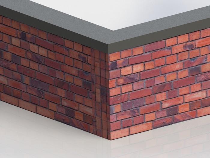 فلاشینگ دیوار با زاویه 90 درجه