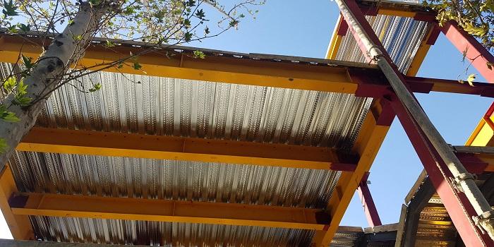 اجرای فلاشینگ سقف