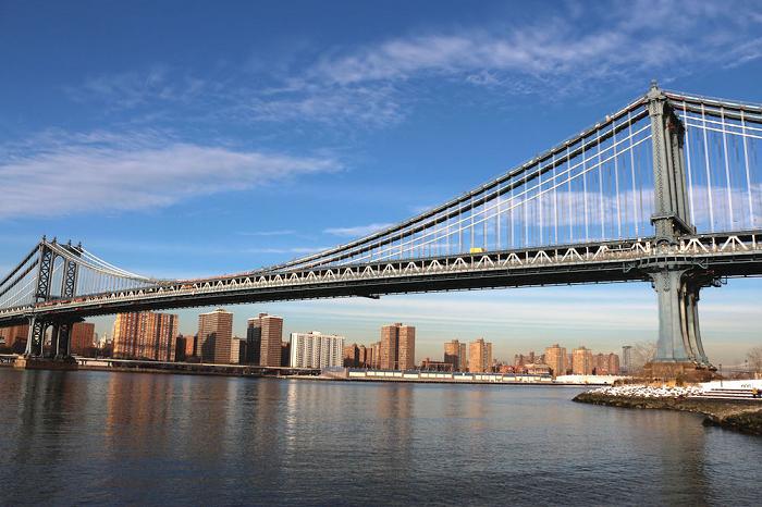 پل بروکلین در نیویورک