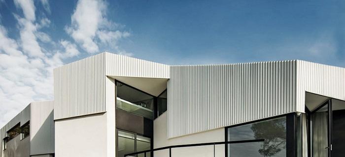 انواع پوشش فلزی نما برای ساختمان ها