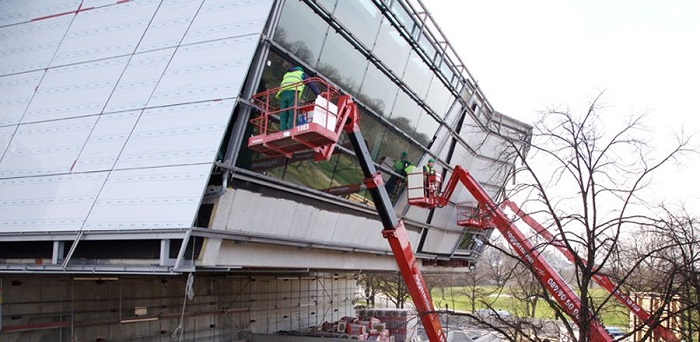 انواع روش های نصب و اجرای نمای فلزی ساختمان