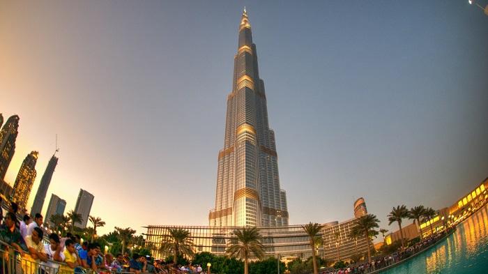 سازه فلزی برج خلیفهی دبی